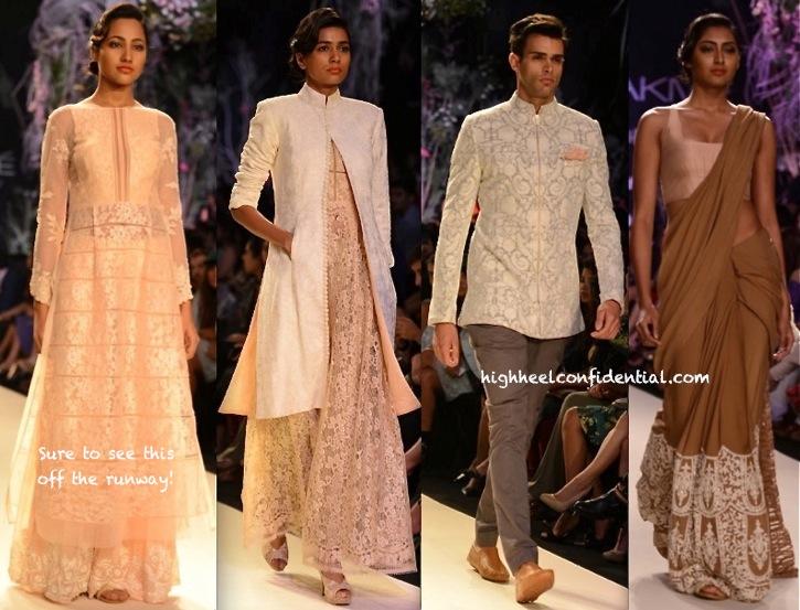 LFW Summer 2014- Manish Malhotra-1