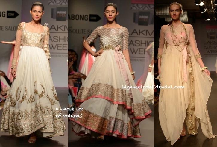 Lakme Fashion Week Summer:Resort 2014- Anushree Reddy-3