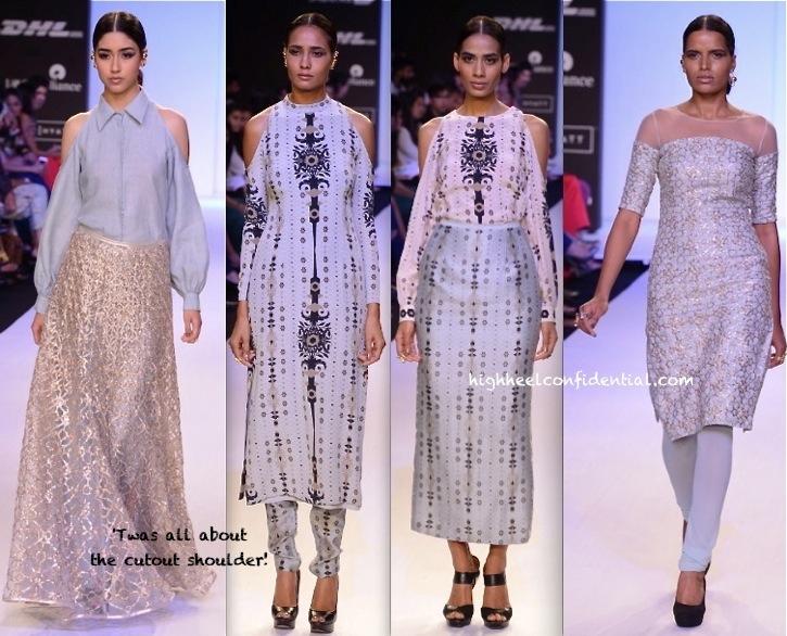 Lakme Fashion Week Summer:Resort 2014- Payal Singhal-2