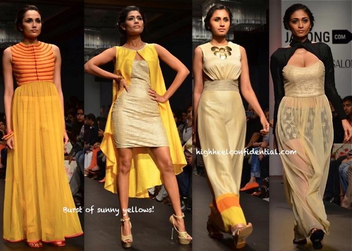 Lakme Fashion Week Summer:Resort 2014- SVA By Sonam & Paras Modi-2