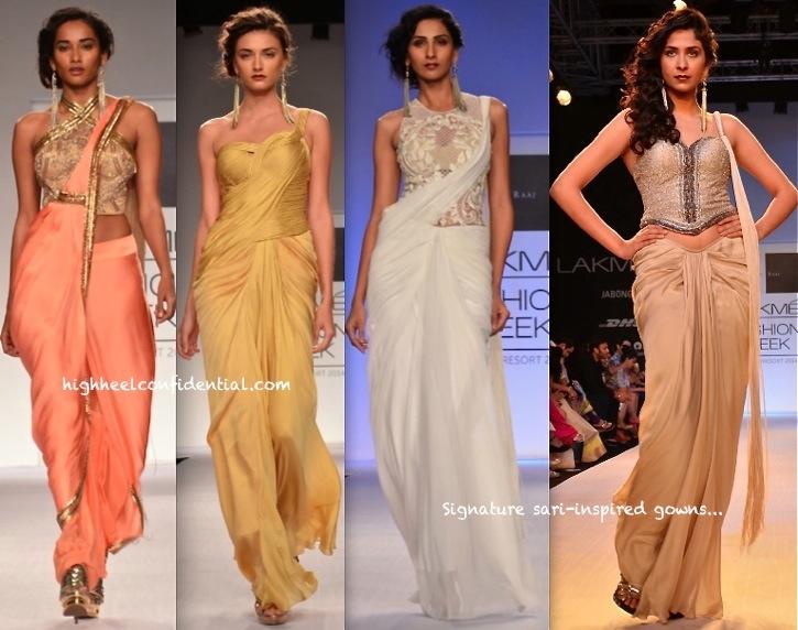 Lakme Fashion Week Summer:Resort 2014- Sonaakshi Raaj-1