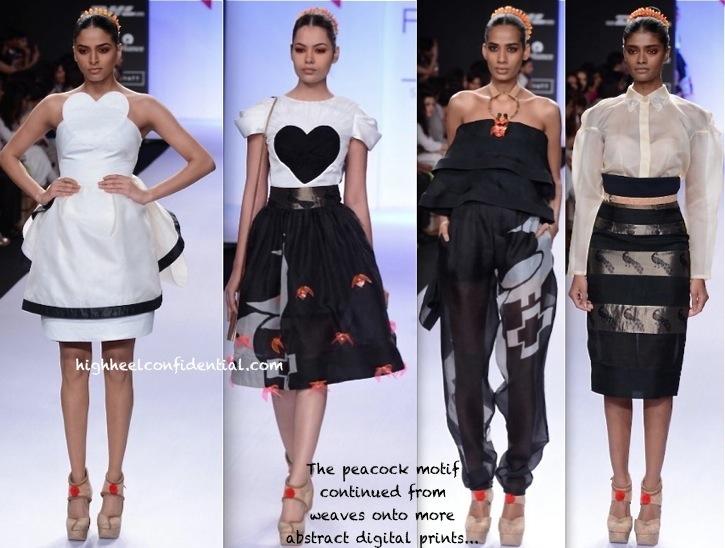 Lakme Fashion Week Summer:Resort 2014- Swapnil Shinde-2