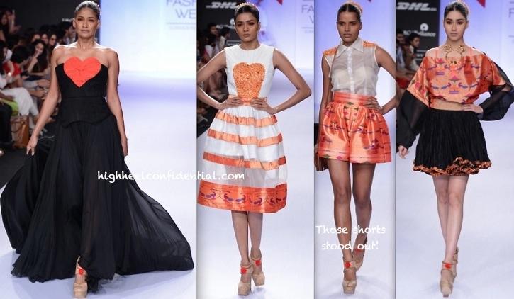 Lakme Fashion Week Summer:Resort 2014- Swapnil Shinde-3