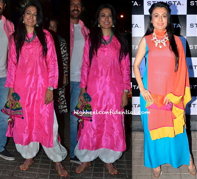 Mini Mathur At The Stylista Party And At Gulaab Gang Premiere