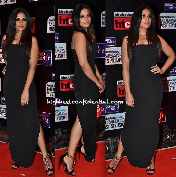 Richa Chadda In DRVV By Dhruv Kapur At HT Most Stylish Awards 2014