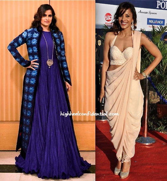 Sona Mohapatra Wears Rohit Bal To her Performance And Mansi Scott Picks Koëcsh For Hers-1