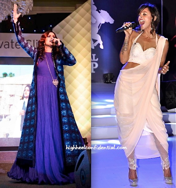 Sona Mohapatra Wears Rohit Bal To her Performance And Mansi Scott Picks Koëcsh For Hers-2