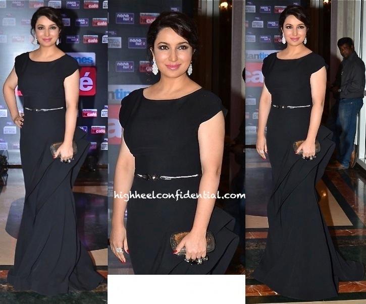 Tisca Chopra In Gauri And Nainika At HT Most Stylish Awards 2014