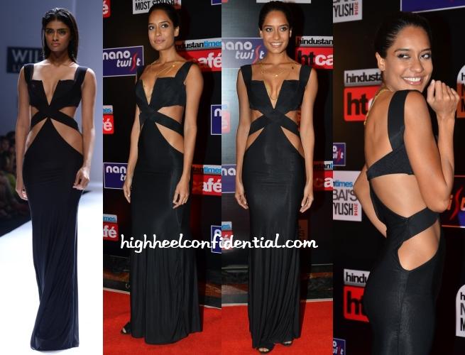 lisa-haydon-shivan-narresh-ht-most-stylish-awards-2014