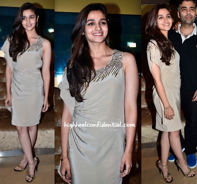 Alia Bhatt At '2 States' Promotions-2