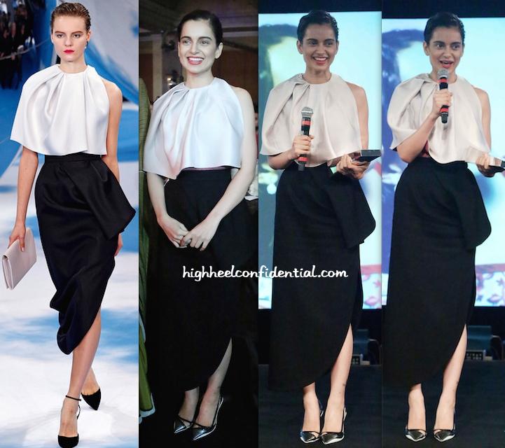 Kangna Ranaut In Dior At NDTV Indian Of The Year Awards-1