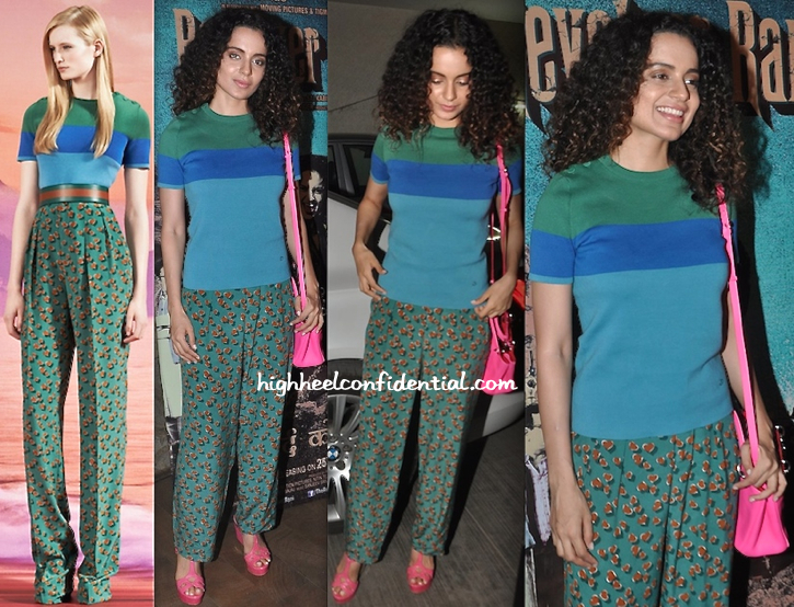 Kangna Ranaut In Gucci (and Dior) At 'Revolver Rani' Screening-1