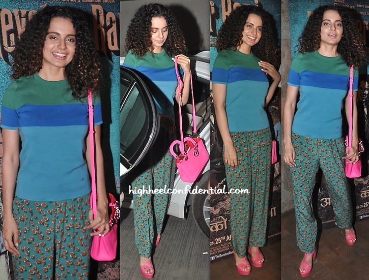 Kangna Ranaut In Gucci (and Dior) At 'Revolver Rani' Screening-2