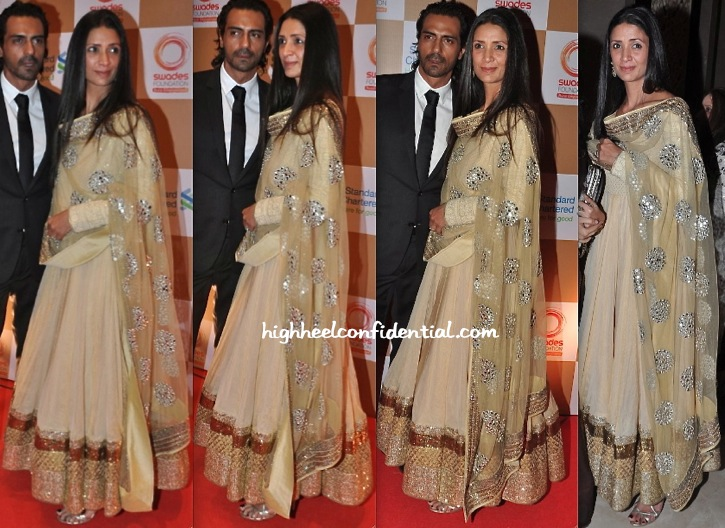Mehr Jessia Rampal In Vikram Phadnis At Swades Foundation Event