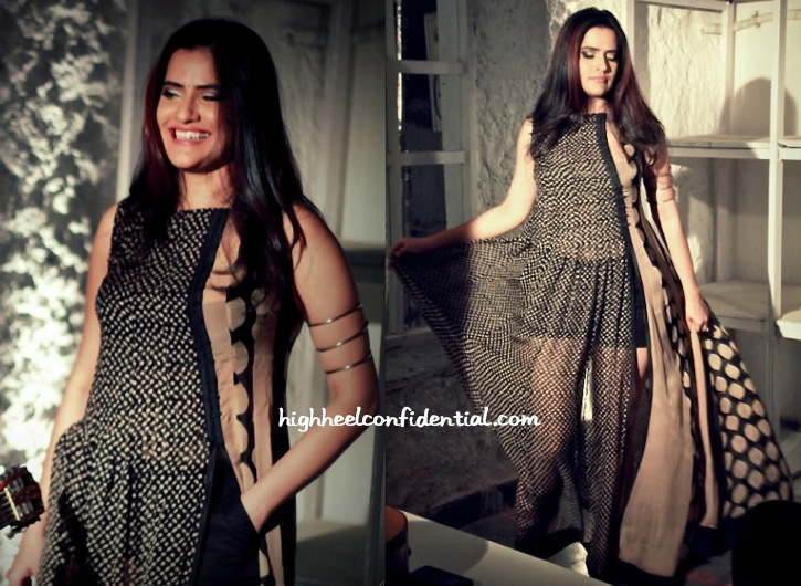 Sona Mohapatra Wears Myoho In Her Music Video, To Nikhat Khan's Art Exhibition And To Juhi Pande's Book Reading-2