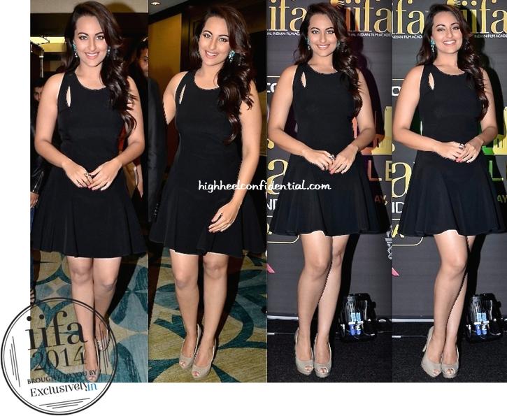 Sonakshi Sinha In DKNY At IIFA Awards 2014 Press Meet-1