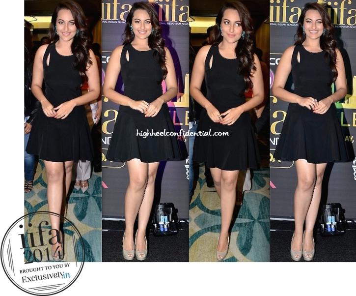 Sonakshi Sinha In DKNY At IIFA Awards 2014 Press Meet-2