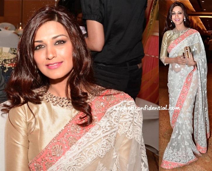 Sonali Bendre At Manish Malhotra's Men For Mijwan Show-2