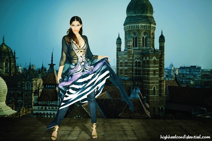 Sonam Kapoor On Grazia's April Issue-1