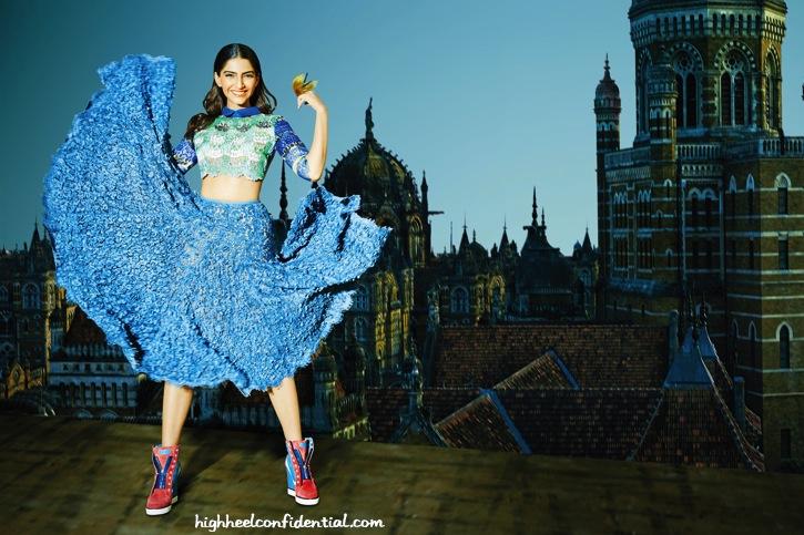 Sonam Kapoor On Grazia's April Issue-2