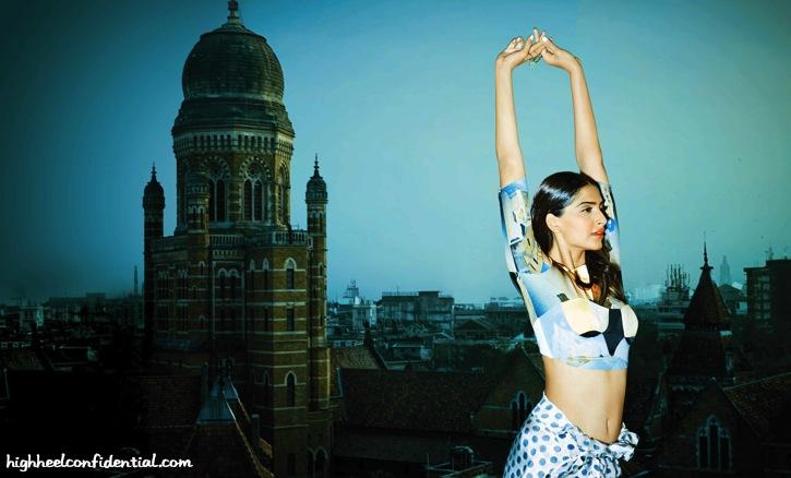 Sonam Kapoor On Grazia's April Issue-3