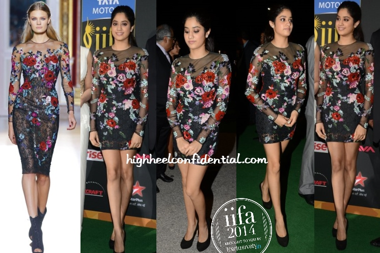jhanvi-kapoor-zuhair-murad-iifa-magic-movies-2014
