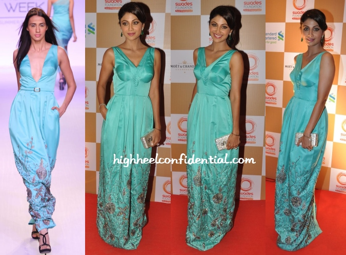 shilpa-shetty-rajat-k-tangri-swades-foundation-charity-event-gown