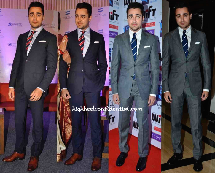 Imran Khan At UN Free And Equal Campaign's Song Launch And At WIFT Felicitation Event