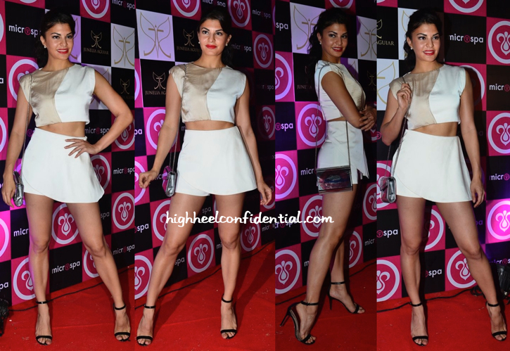 Jacqueline Fernandez At Microspa Launch-1