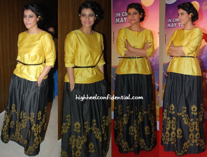 Kajol In Payal Pratap At A Mother's Day Event-1