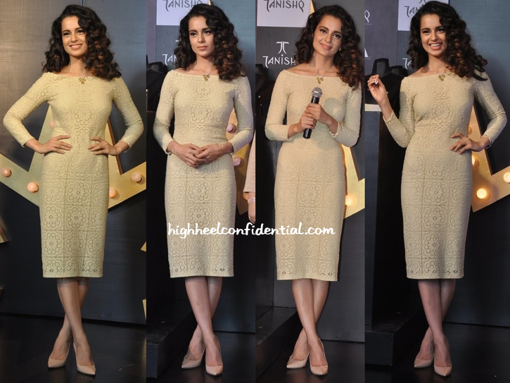 Kangna Ranaut In Burberry At Tanishq Press Conference-1