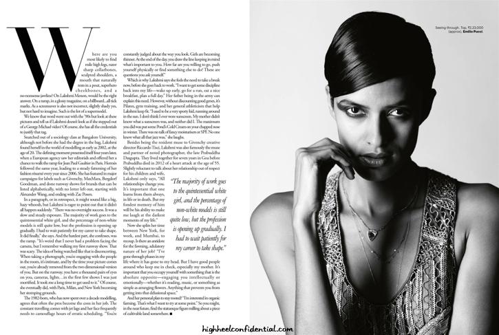 Lakshmi Menon Covers Harper's Bazaar June '14 Issue Wearing Louis Vuitton-4
