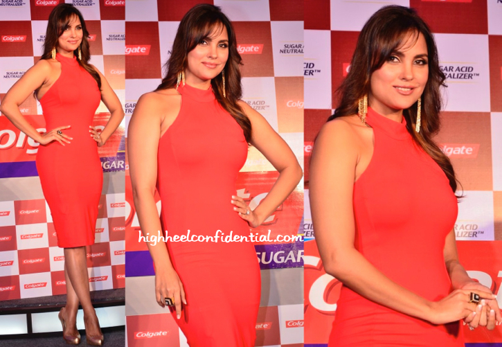 Lara Dutta In Bebe At An Event For Colgate-1