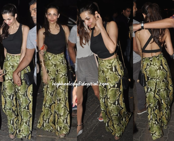 Malaika Arora Khan Photographed Outside Olive Wearing Deme by Gabriella-1