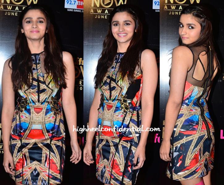 Alia Bhatt At Life OK Awards 2014-2