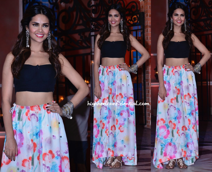 Esha Gupta At Humshakals Promotions