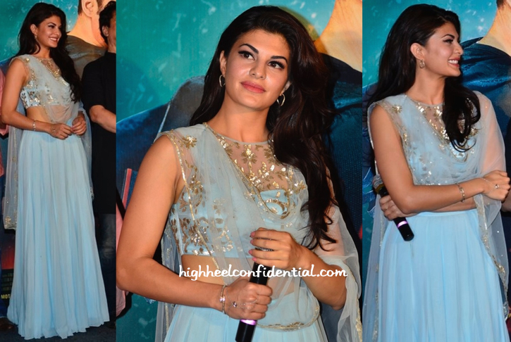 Jacqueline Fernandez In Shehlaa At 'Kick' Trailer Launch-2