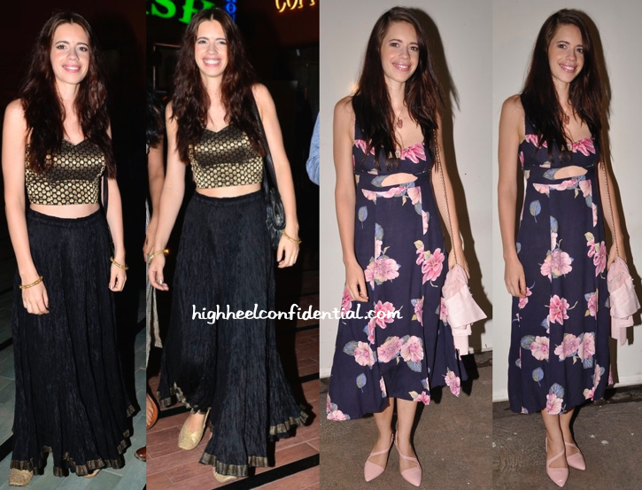 Kalki Koechlin At WIFT's Screening Of 'The World Before Her' And At 'CityLights' Screening-2