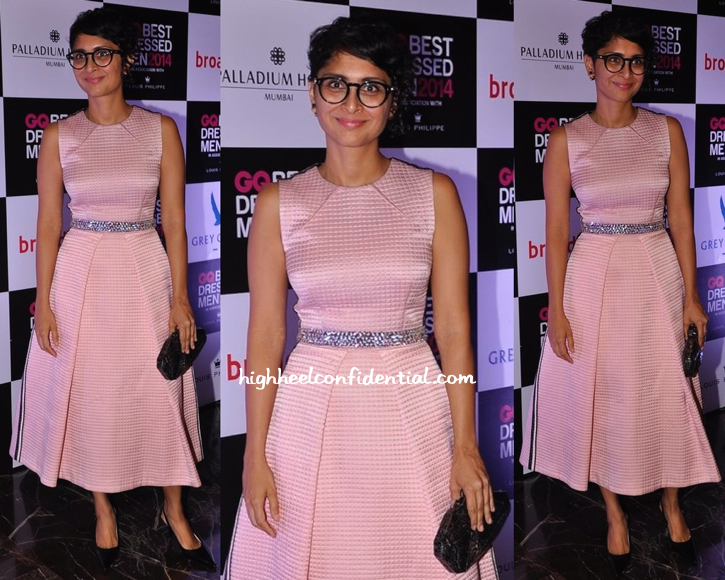 Kiran Rao In Drashta At GQ Best Dressed Men 2014-2