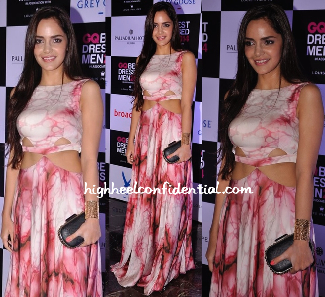 Shazahn Padamsee At GQ Best Dressed Men 2014