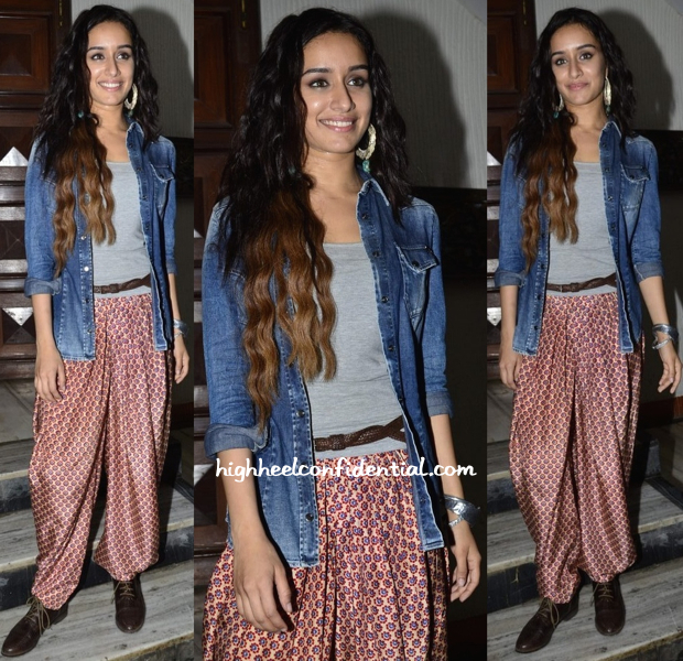 Shraddha Kapoor Promotes The Music Of 'Ek Villain' Wearing Payal Pratap-2