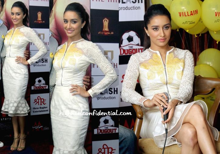 Shradhha Kapoor In Rahul Mishra At 'Ek Villain' Promotions In Kolkata-1