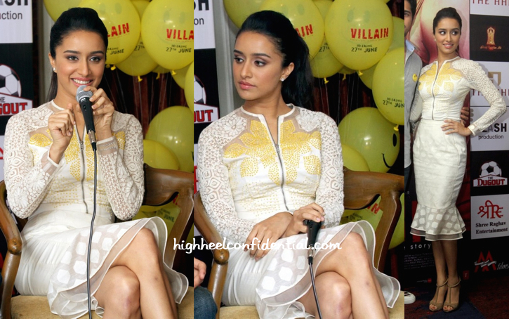 Shradhha Kapoor In Rahul Mishra At 'Ek Villain' Promotions In Kolkata-2