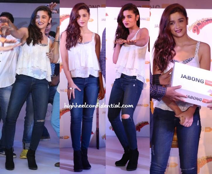 Alia Bhatt At Humpty Sharma Ki Dulhania Promotions-2