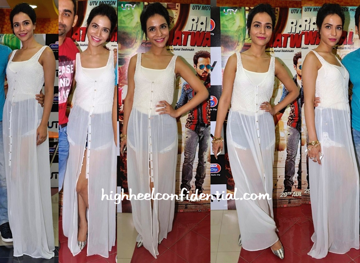 Humaima Malick (In Zara) At Raja Natwarlal Promotions-1