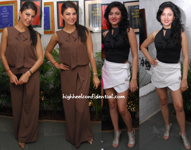 Jacqueline Fernandez And Sonal Sehgal Wear Zara To The Latter's Birthday Dinner