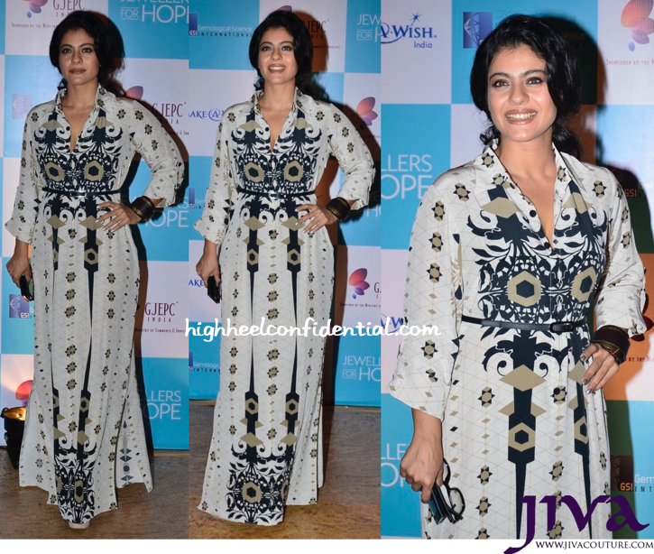 Kajol In Payal Singhal At GJEPC – Jewellers For Hope Charity Gala Dinner-1