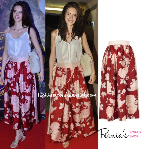 Kalki Koechlin In Shift At Lekar Hum Deewana Dil Premiere