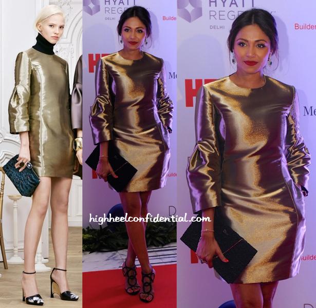 Kalyani Saha Chawla In Dior Pre-Fall 2014 At Hello! Magazine's Anniversary Do
