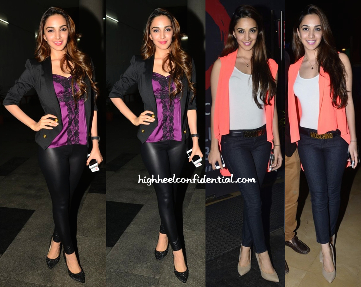 Kiara Advani At 'Fugly' And At 'Lekar Hum Deewana Dil' Screenings